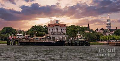 Photograph - Charleston Wharf by Dale Powell