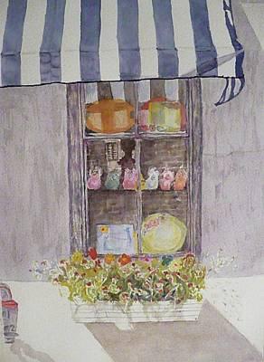 Charleston Window Art Print by Stella Schaefer