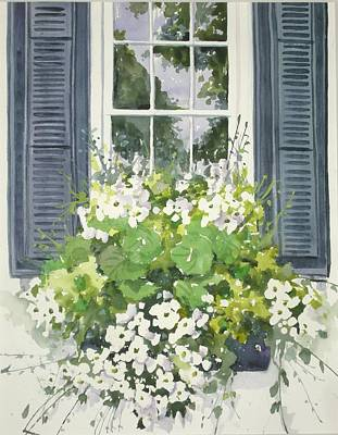 Painting - Charleston Windowbox by Becky Taylor
