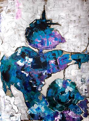 Painting - Charlestoning Inside A Jam Circle by Nicole Philippi