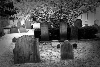 Artistic Photograph - Charlestons Cemeteries by J Darrell Hutto