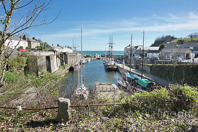 Photograph - Charlestown Cornwall by Terri Waters