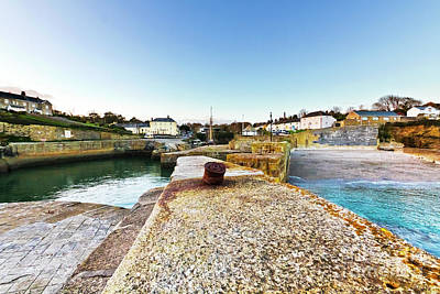 Photograph - Charlestown From The Sea Wall by Terri Waters