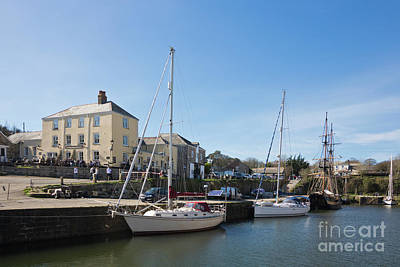 Photograph - Charlestown Harbour Cornwall by Terri Waters