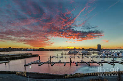 Photograph - Charlestown Sunrise by Mike Ste Marie