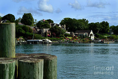 Photograph - Charlevioux Harbour by Amy Lucid