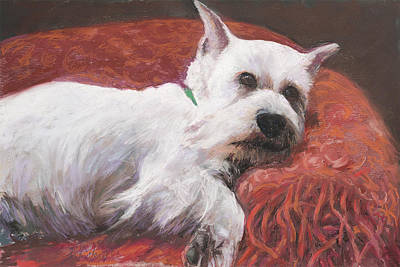 Painting - Charlie by Billie Colson