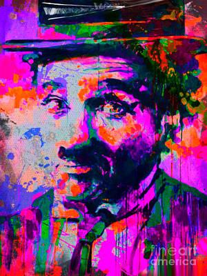 Andywarhol Painting - Charlie Chaplin by Felix Von Altersheim
