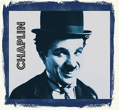Singer Digital Art - Charlie Chaplin by John Springfield