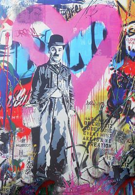 Photograph - Charlie Chaplin by Juergen Weiss
