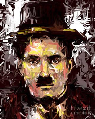 Charlie Chaplin  Art Print by Kegya Art Gallery