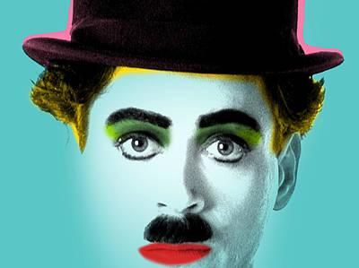 Charlie Chaplin Painting - Charlie Chaplin by Mark Ashkenazi