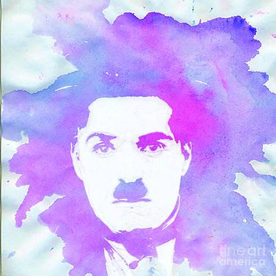 Royalty-Free and Rights-Managed Images - Charlie Chaplin Pop Art by Esoterica Art Agency