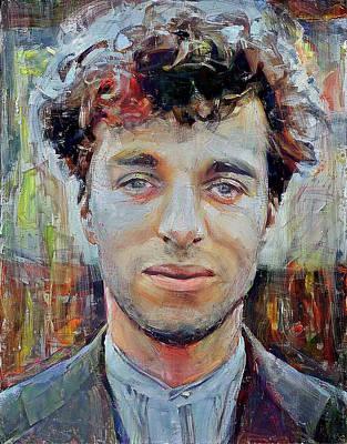 Digital Art - Charlie Chaplin Portrait No Mask 2 by Yury Malkov