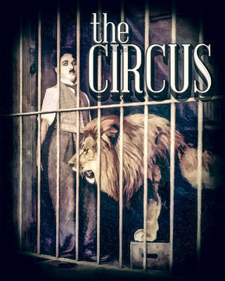 Charlie Chaplin - The Circus Art Print