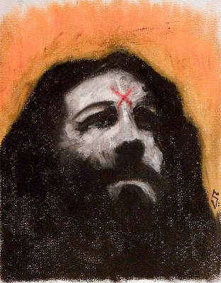 Charles Manson Painting - Charlie Is Man by Sam Hane
