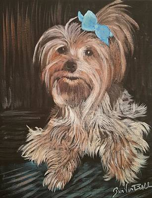 Painting - Charlie  by Jan VonBokel