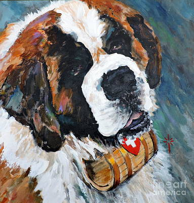 Painting - Charlie by Jodie Marie Anne Richardson Traugott          aka jm-ART