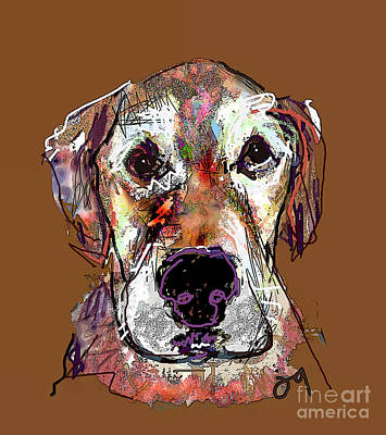 Digital Art - Charlie by Joyce Goldin