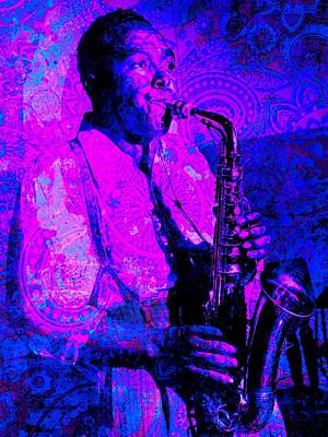 Charlie Parker Art Print by Brian Broadway