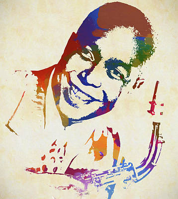 Painting - Charlie Parker Watercolor by Dan Sproul