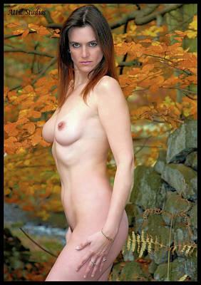Charliegirl Autumn Nude Art Print