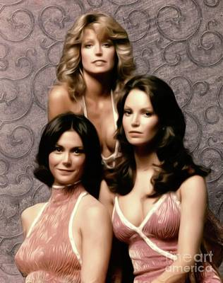 Musician Royalty-Free and Rights-Managed Images - Charlies Angels by Mary Bassett
