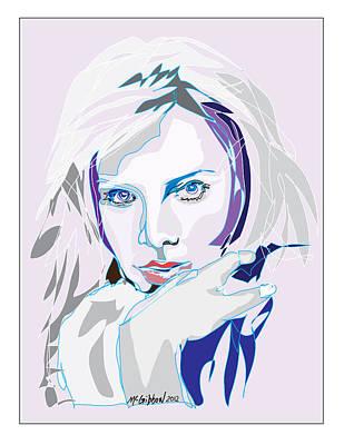 Digital Art - Charlize Theron by Dan McGibbon