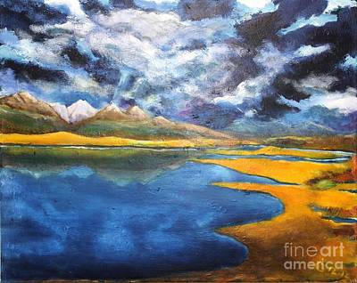 Painting - Charlo Morning by Chaline Ouellet