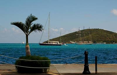 Photograph - Charlotte Amalie Harbor by Christopher James