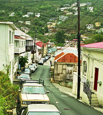 Photograph - Charlotte Amalie Neighborhood by James Rasmusson
