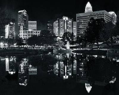 Charlotte Black Night Art Print by Frozen in Time Fine Art Photography