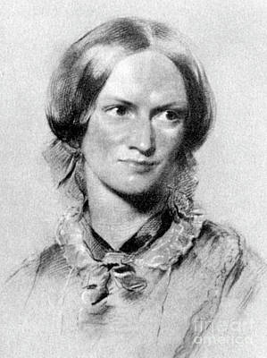 Drawing - Charlotte Bronte British Novelist by George Richmond