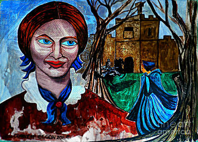 Narrative Painting - Charlotte Bronte's Jane Eyre I by Genevieve Esson