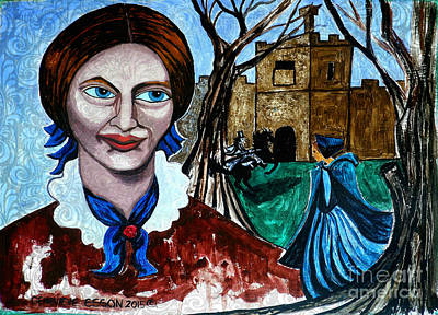 Painting - Charlotte Bronte's Jane Eyre II by Genevieve Esson