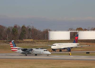 Photograph - Charlotte Douglas International Airport 15 by Joseph C Hinson Photography