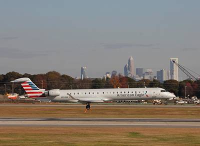 Photograph - Charlotte Douglas International Airport 17 by Joseph C Hinson Photography