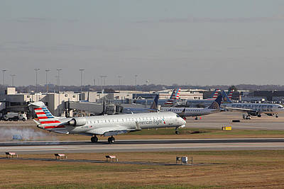 Photograph - Charlotte Douglas International Airport 20 by Joseph C Hinson Photography