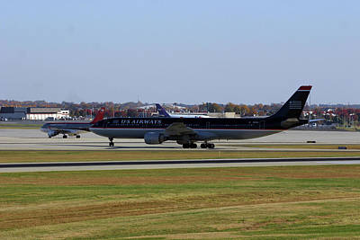 Photograph - Charlotte Douglas International Airport 2006 A by Joseph C Hinson Photography