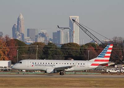 Photograph - Charlotte Douglas International Airport 22 by Joseph C Hinson Photography