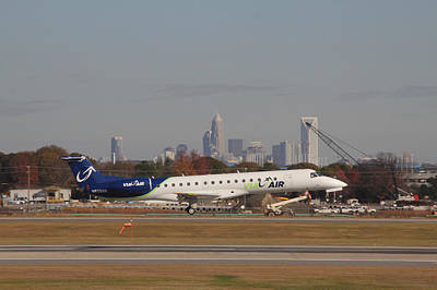 Photograph - Charlotte Douglas International Airport, Charlotte, North Carolina, Queen City, Airport, Avaiatio 13 by Joseph C Hinson Photography