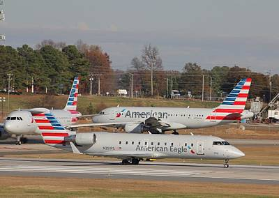Photograph - Charlotte Douglas International Airport 14 by Joseph C Hinson Photography