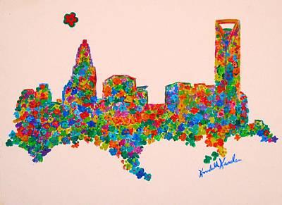 Painting - Charlotte Flower by Kendall Kessler