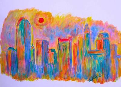 Painting - Charlotte Gold by Kendall Kessler