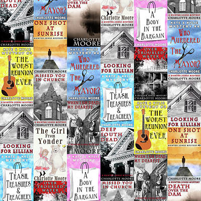 Photograph - Charlotte Moore Book Covers by Mark Tisdale