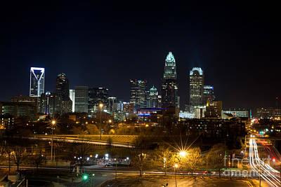 Charlotte Photograph - Charlotte Night by Manda Renee