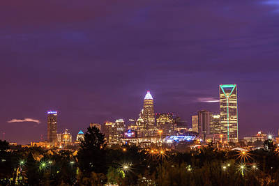 Photograph - Charlotte, North Carolina Sunrise by Serge Skiba