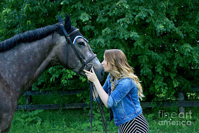 Photograph - Charlotte-phil-23 by Life With Horses