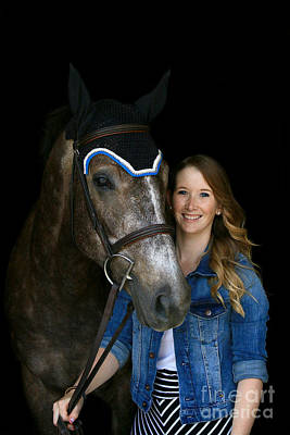 Photograph - Charlotte-phil-5 by Life With Horses