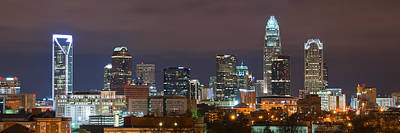 Charlotte Skyline 2012 Art Print by Brian Young